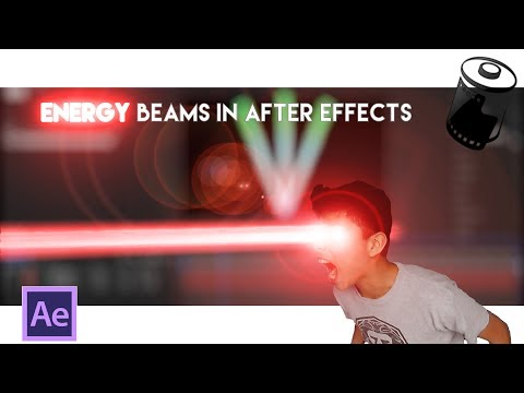 How to make an Energy Beam in After Effects! | After effects / Hitfilm Tutorial #1