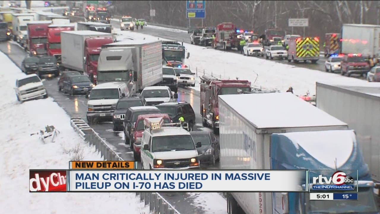 1 dies after 40-car pileup on I-70