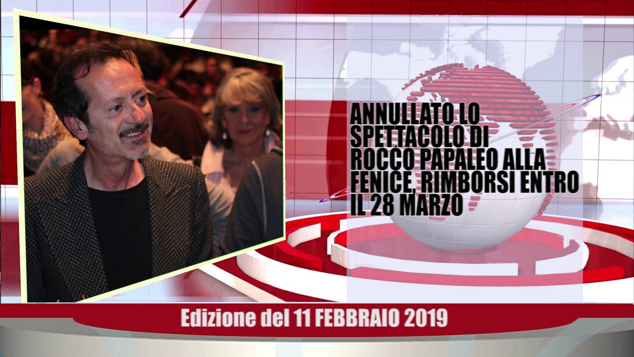 Velluto Notizie Web Tv Senigallia Ed  11 02 2019