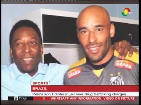 Pele's son Edinho jailed over drug trafficking - 25/2/2017