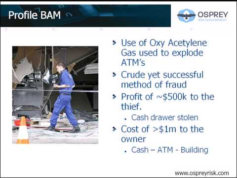 Managing ATM and Bank Branch Risk with Osprey Risk
