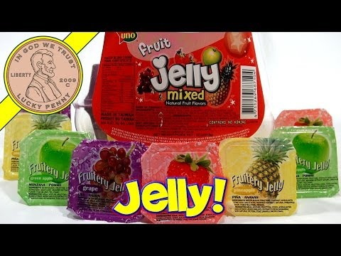 Uno Fruit Jelly Mixed Natural Fruit With Nata de coco!