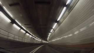 Jersey City, New Jersey to New York, New York - A drive through the Holland Tunnel HD (2013)
