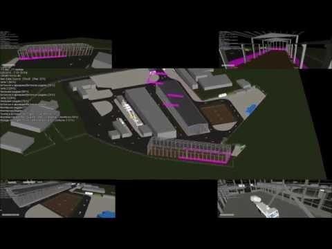 BIM | 5D Construction simulation | Factory complex in Serbia