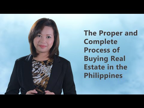 Real Estate Buying Process in the Philippines