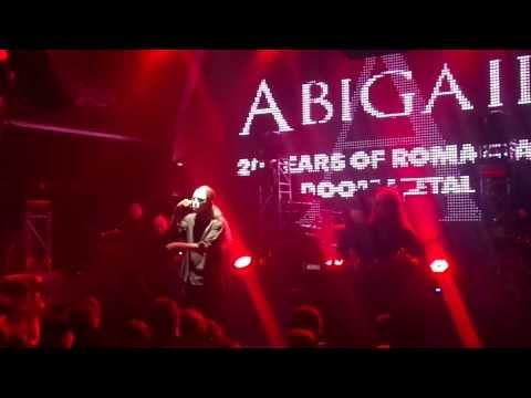 Abigail - It Is The Night I Fear (live @ Silver Church 06.02.2014)