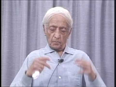 Understanding Problems, And The Art Of Living | J. Krishnamurti