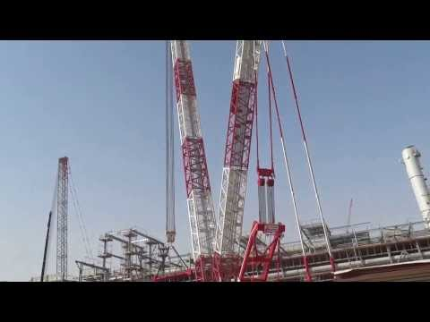 Heavy lift Terex CC8800-1