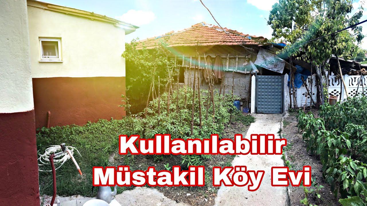 Şirin Müstakil Köy Evi Masrafsız Bahçesinde Meyve Ağaçları Ve Ahırı Mevcut 385 M2 Arsası 200.000₺