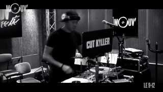 "CUT KILLER : Mini-Mix  ""La Haine 20 ans"" (live @ Mouv"