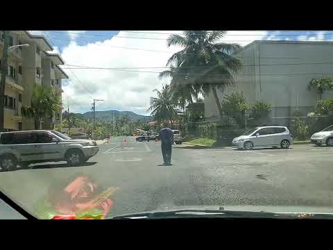 Life in Pohnpei, oil spill at Pohnpei Service Station