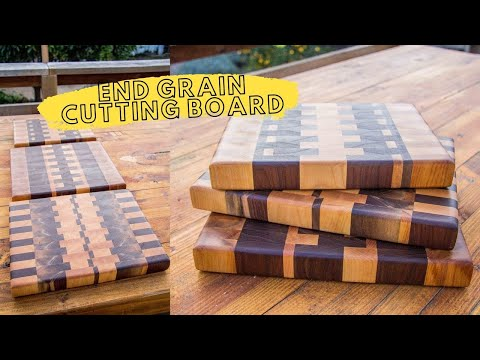 how-to-make-end-grain-cutting-boards-with-scrap-wood-//-diy-butcher-blocks