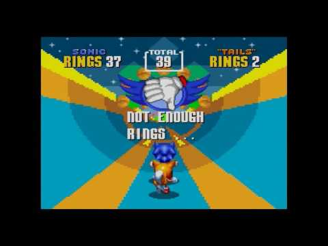 Sonic 2 Can Can (4x Slow Motion)