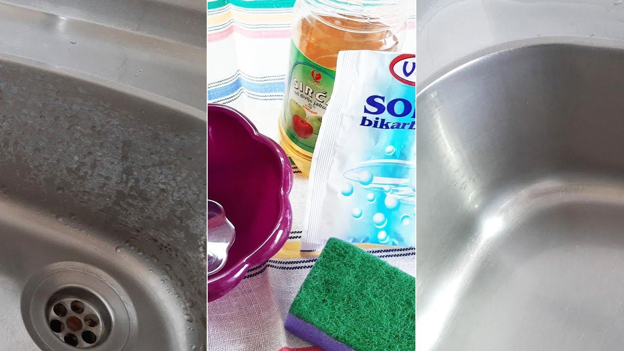 Zapuštena sudopera blista za par minuta bez po muke! Probajte, bićete oduševljeni!