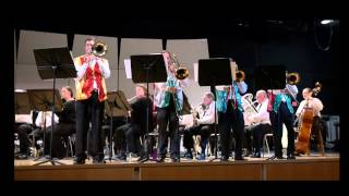 Holiday for Trombones, David Rose - MERION CONCERT BAND 1080p