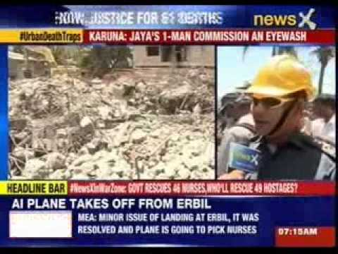 Karunanidhi Demands CBI Probe Into Chennai Building Collapse