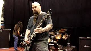 Slayer rehearsal Ghost of War