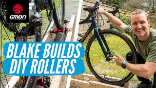 DIY Bike Rollers For Riding At Home - Blake Builds