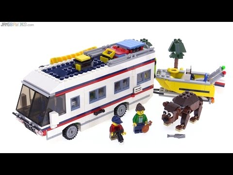 LEGO Creator 3-in-1 Vacation Getaways review! 31052