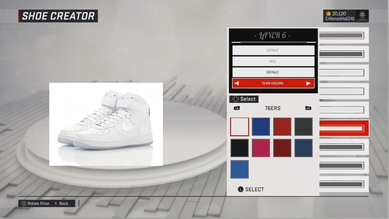 nba 2k17 shoe creator jordan 1 g fazos youtube