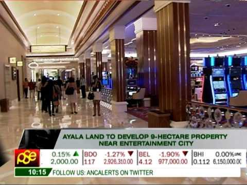 Ayala Land to develop property near Entertainment City