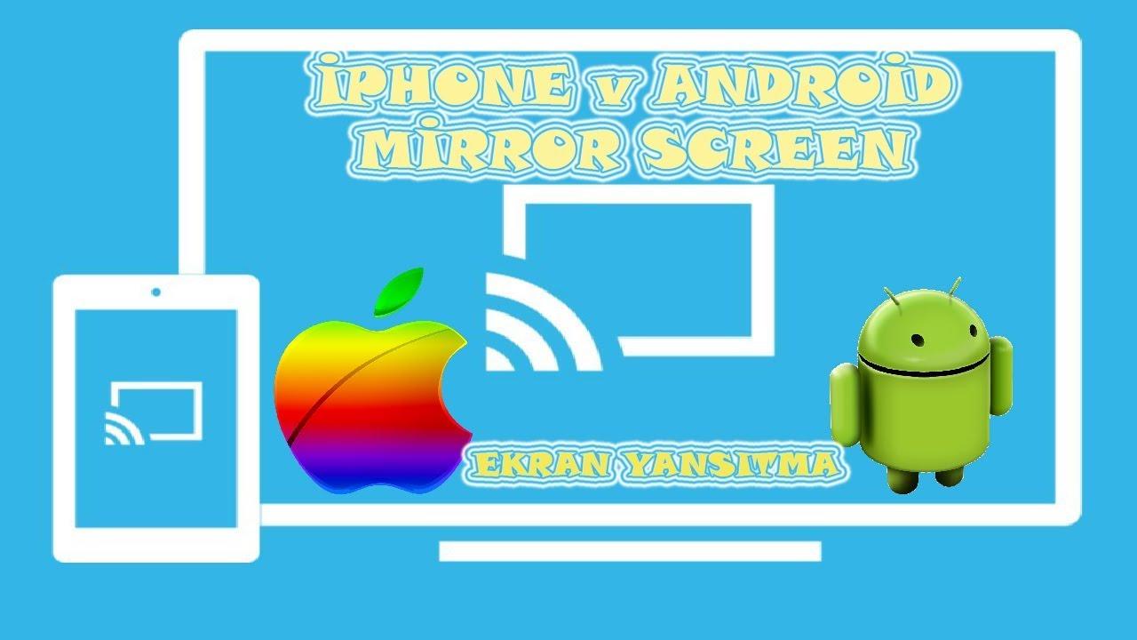JVC LT-50VU73T iphone & android mirror screen telefon görüntüsünü smart tv  ye aktarmak phone on tv