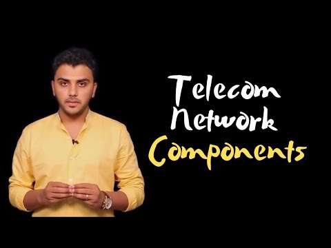 CA IPCC ITSM: Lecture 3: Components Of A Telecommunication Network