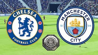 Community Shield 2018 - Chelsea Vs Manchester City - 05/08/18 - FIFA 18
