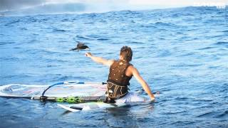 Incredible Tahiti Windsurfing filmed by Kevin Pritchard