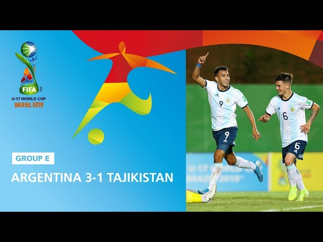 Argentina v Tajikistan Highlights - FIFA U17 World Cup 2019 ™