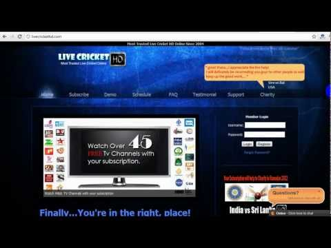 Watch Live Cricket Streaming Online HD  LiveCricketHD.com