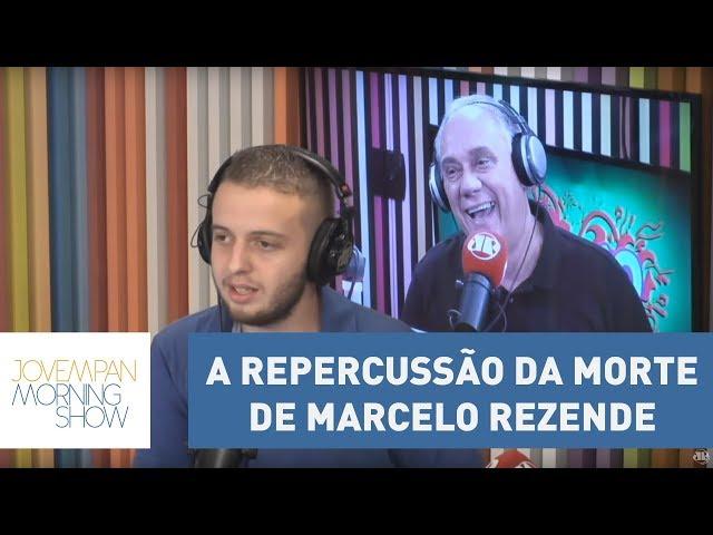 Vini fala da repercussão da morte do jornalista Marcelo Rezende | Morning Show