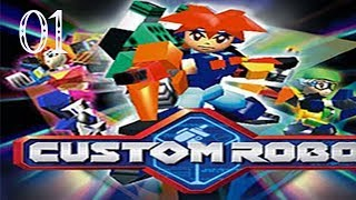 Custom Robo Episode 1 (N64)  -  This Game Is Freaking Awesome!!!!