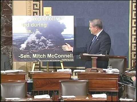 Menendez speech on irony of Offshore Drilling