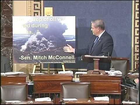 Menendez speech on irony of Offshore Drilling