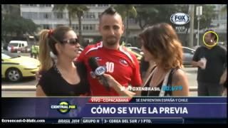 Paraguaya en Rio  con el marido a Chile