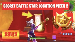 Secret Battle Star Banner Staffel 8 Woche 2 Herausforderungen Fortnite Battle Royale