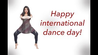 International dance day special Thank you for your support Vinatha Sreeramkumar