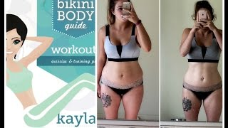 Kayla Itsines BBG ♥︎ Week 12 Final Review ♥︎ Before & After