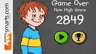 Horrid Henry game video - all pranks unlocked - gameplay by Appysmarts