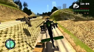 GTA IV San Andreas - Сумасшедший Пилот