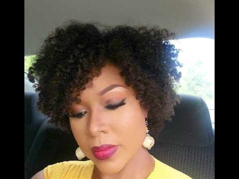 natural hair tutorial bantu knot