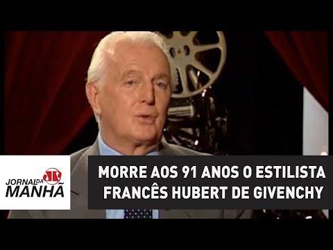 Morre aos 91 anos o lendário estilista francês Hubert de Givenchy