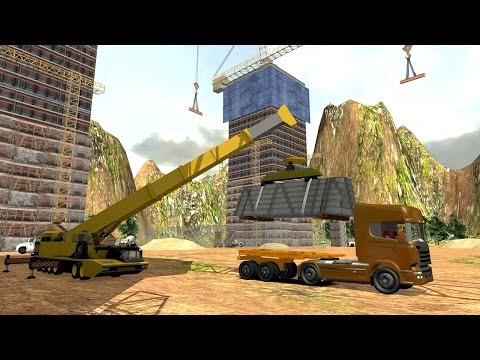 Real Construction & Crane SIM (by TrimcoGames) Android Gameplay [HD]