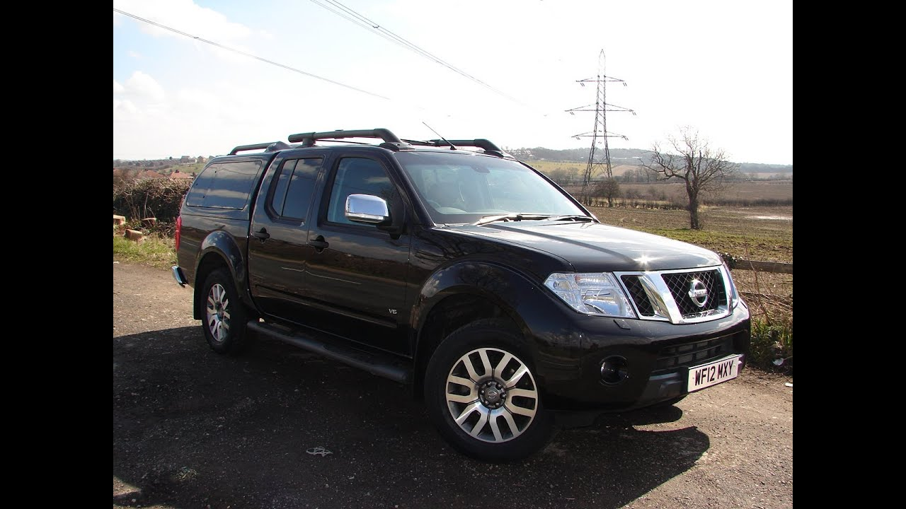 Nissan Navara Double Cab Pick Up Outlaw 3 0dci V6 231 4wd
