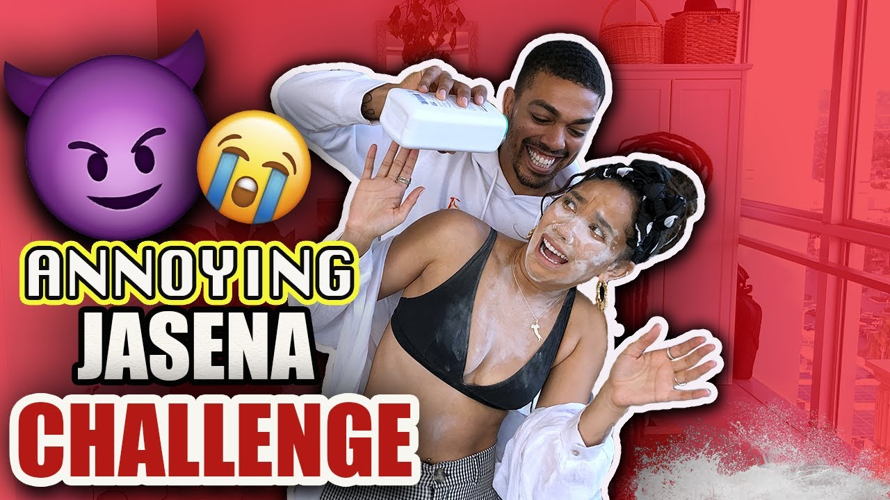 ANNOYING MY GIRLFRIEND CHALLENGE **SHES FED UP WITH ME