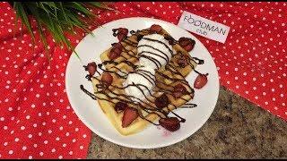 Венские вафли с ягодами и мороженым: рецепт от Foodman.club