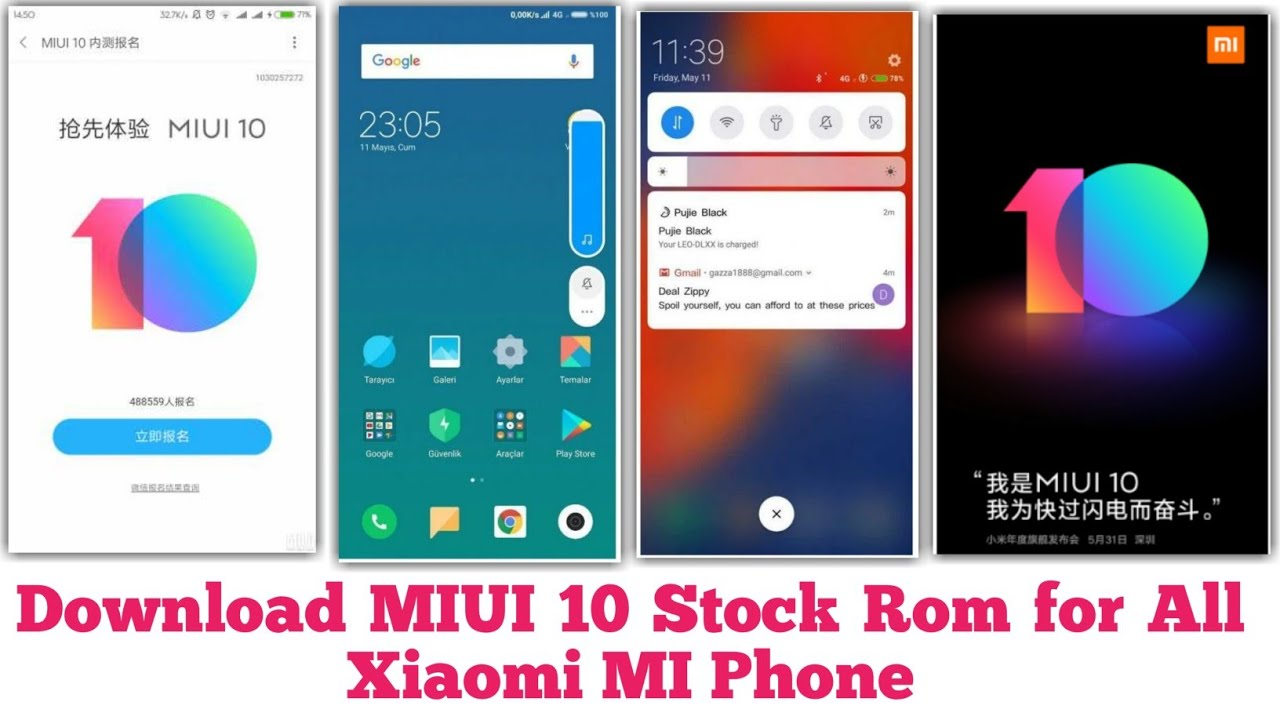 Download MIUI 10 Stock Rom For All Xiaomi Mi Phone | MIUI 10 Rom Available  For All Xiaomi Mi Phone