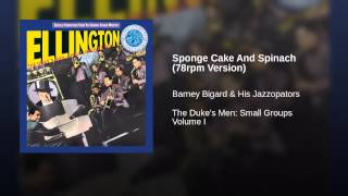 Sponge Cake And Spinach (78rpm Version)