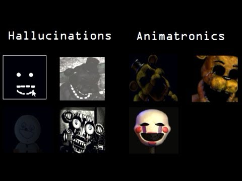 Five Nights at Freddy's: Extras Animatronics Simulator (SECRET)